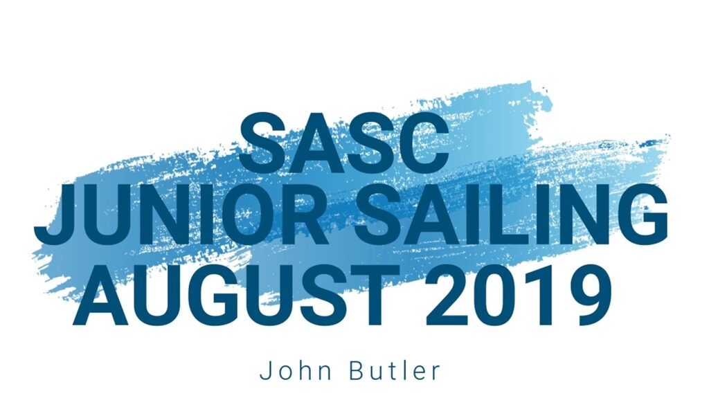 SASC Junior Sailing August 2019